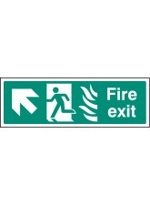 HTM Fire Exit - Arrow Up Left