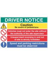 Driver Notice be Aware of Pedestrians - Unsupervised Reversing Forbidden