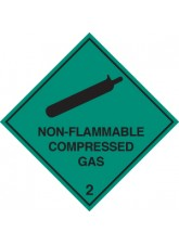Non-flammable Compressed Gas 2
