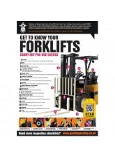 Forklift Inspection Checklist Poster (A2)