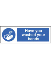 Have you Washed your Hands Floor Graphic