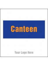 Canteen - Site Saver Sign - 400 x 400mm