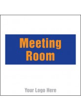 Meeting Room - Site Saver Sign - 400 x 400mm