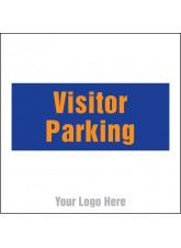 Visitor Parking - Site Saver Sign - 400 x 400mm
