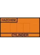 Design Own Cylinder Storage Placard - Aluminium