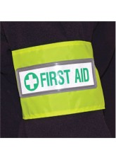 First Aid Reflective Armband