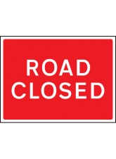Road Closed - Class RA1 - 1050 x 750mm