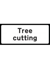 Tree Cutting Supp Plate - Class RA1 - 850 x 355mm