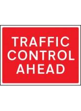 Traffic Control Ahead - Class RA1 - 600 x 450mm