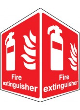 Fire Extinguisher - Projecting Sign