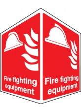 Fire Fighting Equipment - Projecting Sign