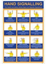 Hand Signalling Regulations Poster