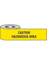 Caution Hazardous Area Barrier Tape
