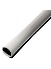 Grey galvanised steel pole powder coated 2.5mtr x 50mm