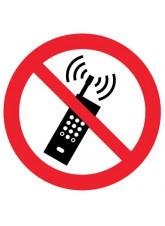 Floor Graphic - No Mobile Phones Symbol
