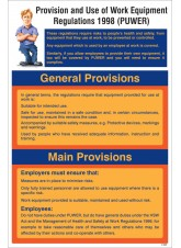 PUWER Guidance Poster