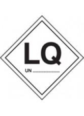 Roll of 100 LQ UN Labels - Roll of 100 100mm