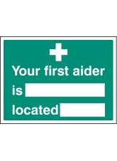 Your First Aider Is Located