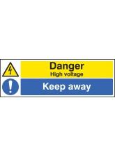 Danger High Voltage Keep Away
