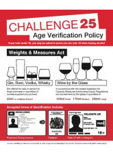 Age verification policy Weights & measures act 25ml