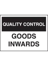 Quality Control Goods Inward