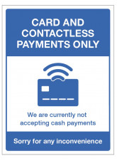 Card and Contactless Payments Only